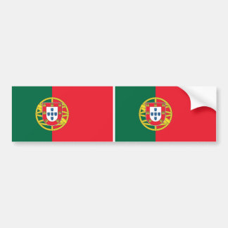 Sticker with Flag of Portugal