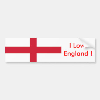 Sticker with Flag of the England