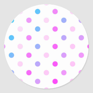 Sticker : with fresh Marshmallow dots
