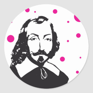 Sticker x20 Samuel Champlain pink points