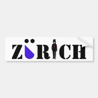 sticker Zurich