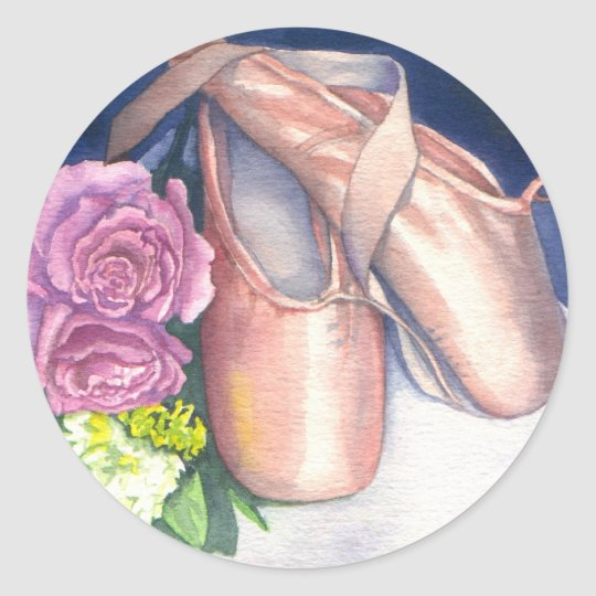 Stickers - Ballet Shoes & Roses