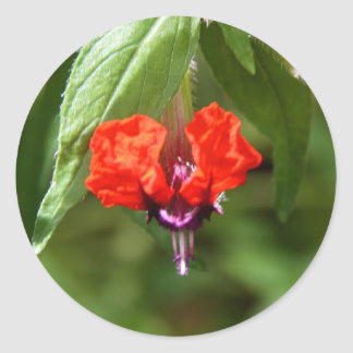 Stickers - Bat Face Flower
