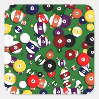 Stickers - Billiards