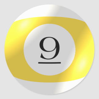 Stickers - Billiards - 9 Ball