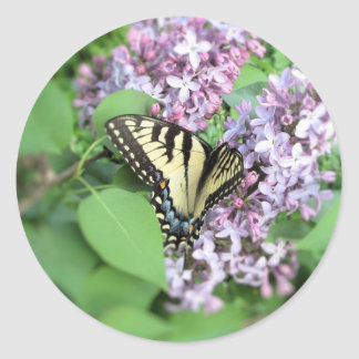 Stickers - ET Swallowtail on Lilac