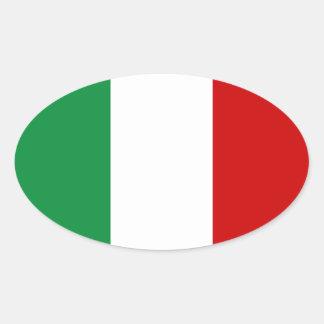 Stickers Flag of Italy Italian il Tricolore