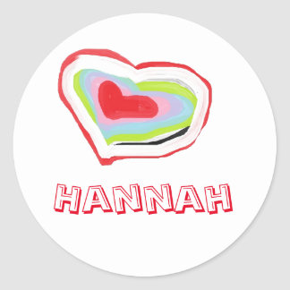 stickers for hannah