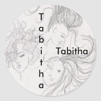 stickers for name: Tabitha