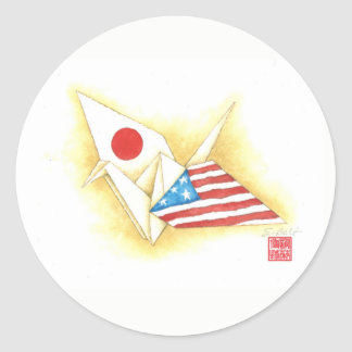 Stickers ~ Japan-U.S. Friendship