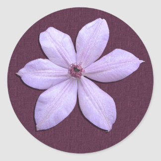 Stickers - Lilac Clematis