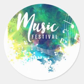 stickers music festival