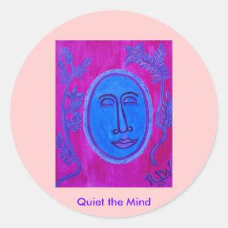 Stickers - quiet the mind