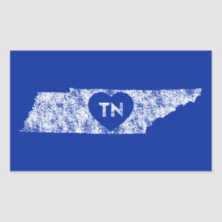 Stickers Used I Love Tennessee State