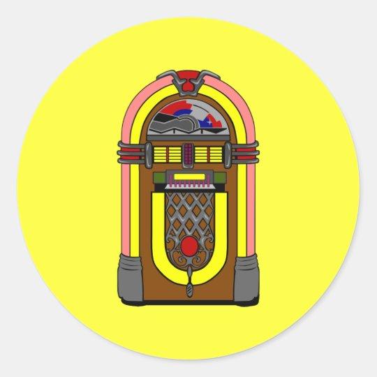 Stickers - Vintage Neat-o Jukebox