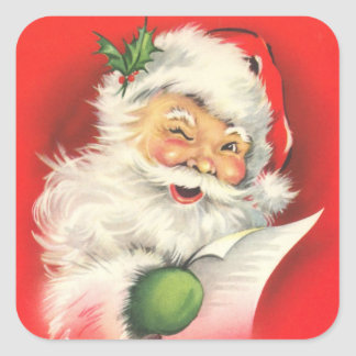 Stickers - Vintage Santa Claus