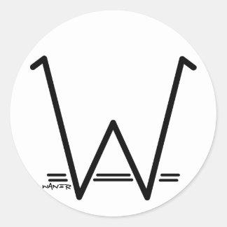 Stickers W Waner