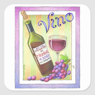 STICKERS - YOU HAD ME AT MERLOT - Wine Art