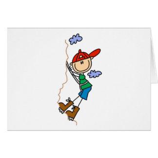 StickFigure Mountain Climbing Cards