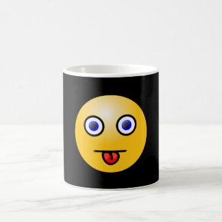 Sticking out tongue - coffee mug