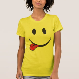 Sticking out tongue emoji T-Shirt