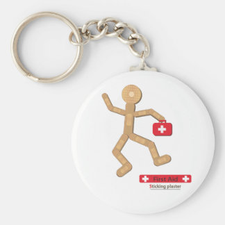 Sticking plaster Figure bags.ai Keychain