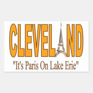 Sticking with Cleveland Sticker