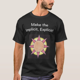 Stickley Implicit/Explicit with definitions. T-Shirt