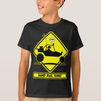 STICKMAN SAND RAIL Road Signs T-Shirt