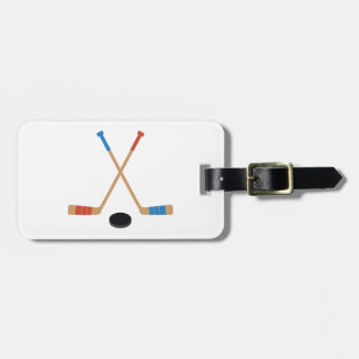 Sticks & Puck Luggage Tag