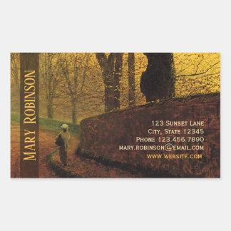Sticky business card Grimshaw Stapleton Park Sticker