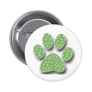 Sticky Catus Paw 2 Inch Round Button