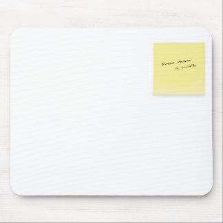 sticky note mouse pad