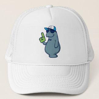 Sticky Password Trucker Hat - Mr. Manatee