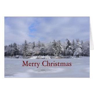 Sticky Snow 34 Christmas ~ card