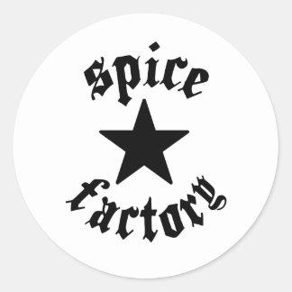 Sticky Spice Classic Round Sticker