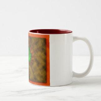 Sticky Subject Two-Tone Coffee Mug