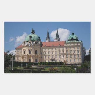 Stift Klosterneuburg, Lower Austria Rectangle Sticker