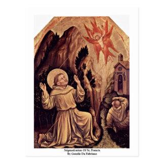 Stigmatization Of St. Francis Postcard
