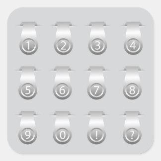 stikers set square sticker