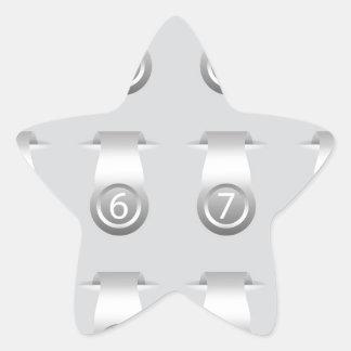 stikers set star sticker