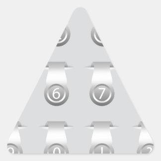 stikers set triangle sticker
