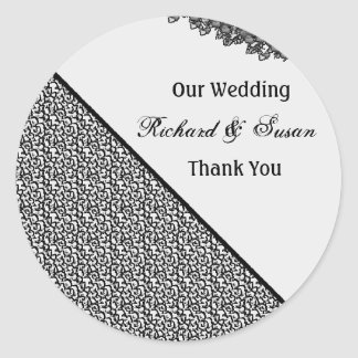 stikers to wedding round sticker