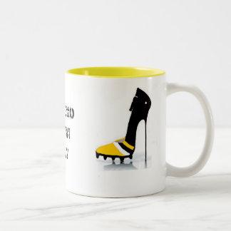 Stiletto Bowl XLV Steelers Packers Coffee Mug