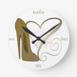Stiletto Shoe Art Clocks