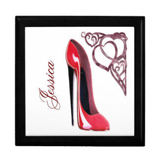 Stiletto Shoe Art Gift Boxes