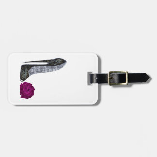 Stiletto Shoe Art Luggage Tags
