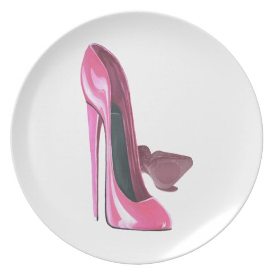 Stiletto Shoe Art Plates