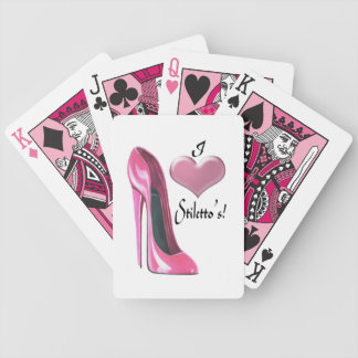 Stiletto Shoe Art Playing Card Decks
