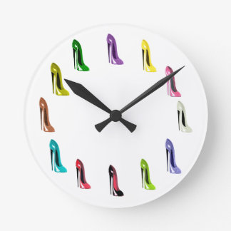 Stiletto Shoes Art Galore Clock